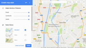 google maps api styling wizard sevilla 1